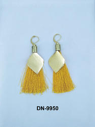 Golden Color Thread Earring