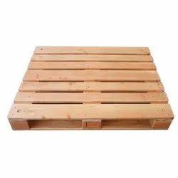Four Way Rectangular Wooden Pallets