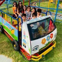 Kids Jumping Bus