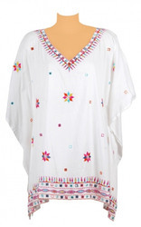 Multicolor Embroidered Kaftans