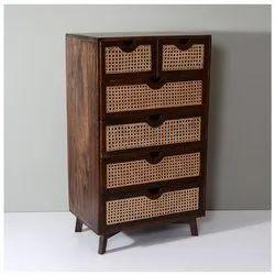 Wooden Cane Storage Drawer