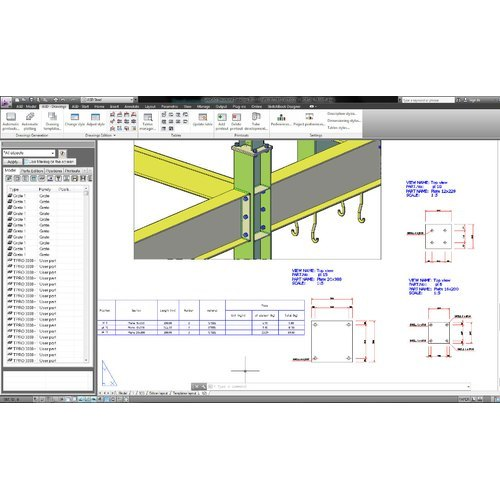Steel Fabrication Services: Steel Fabrication Drawings At Rs 1000/ton