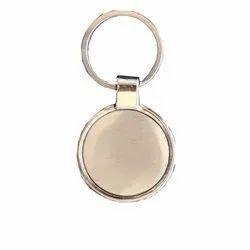 Stainless Steel  Silver Metal Key Ring