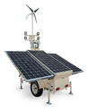 SOLAR BASED MOVABLE LIGHTING TOWER