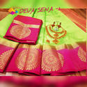 Kanjivaram Dev Sena Saree