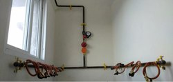 LPG Gas Bank Manifold