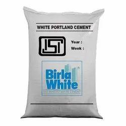 Birla White Cement, 25kg, Packaging Type: Bags