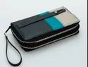 Leather Wallet With Powerbank