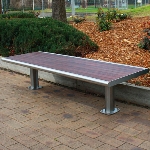 SS Outdoor Designer Bench