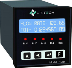 Flow Rate Indicator Totalizers