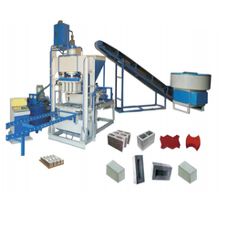 Fully Automatic Fly Ash Bricks And Paver Block Machine