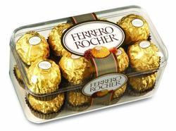 Printed Plastic Ferrero Rocher Chocolate Gift Box