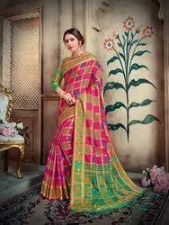 Pr Fashion Launched Beautiful Designer Silk Saree