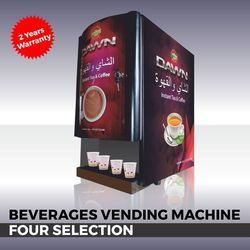 Four Option Vending Machine