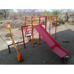 Three In One Combo Set Playground Slides