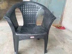 Jindal Brown Plastic Sofa Chair, For Home