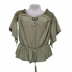 stylish sleeve girls tops