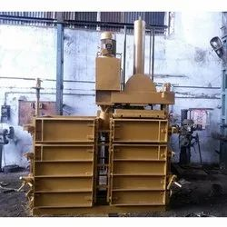 Double Box Single Cylinder Baling Machine