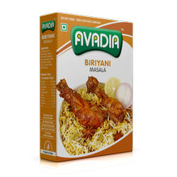 Avadia Biryani Masala, Packaging Type: Box