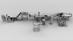Fully Automatic Snack Pellet Frying Line