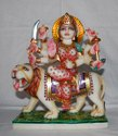 Maa Durga Marble Murti