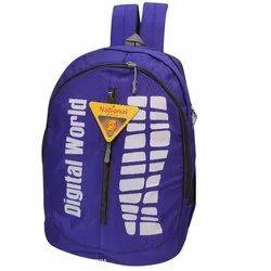 1000 Denim School Bag