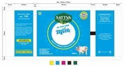 SATTVA Organic A2 MILK, Omega 3,Good Fat, Quantity Per Pack: Starts From Half Litre