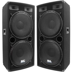 Seismic Audio Black Corona Outdoor Loudspeaker Systems, 500 W