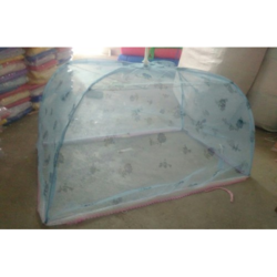 4 Ribs Printed Baby Mosquito Net
