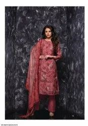 Embroiderd Silk Suits