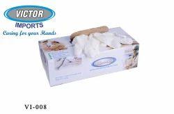 White Latex Rubber Gloves
