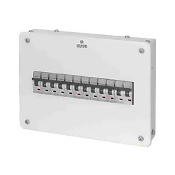 Mild Steel MCB Power Distribution Board Panel, 18 Way, IP Rating: IP42