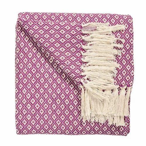 Cotton Finish Plain Large Sofa Throws Knit Throw Blankets ...