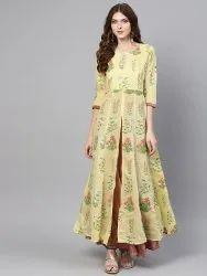 Pr Fashion Launched Beautiful Readymade Long Kurti
