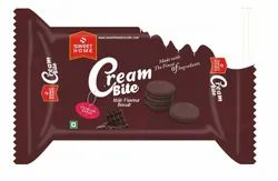 Cream Biscuits SWEET HOME CREAMBITE CHOCOLATE, Packaging Type: Box