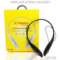 Troops Black Wireless Stereo Headset