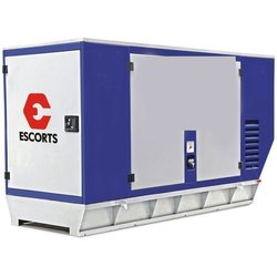 Escorts Silent or Soundproof 10KVA Escort Diesel Generator, 415 V