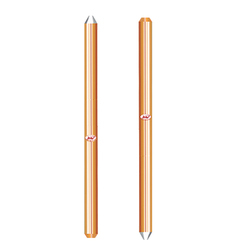 UL listed Copper Bonded Ground Rods