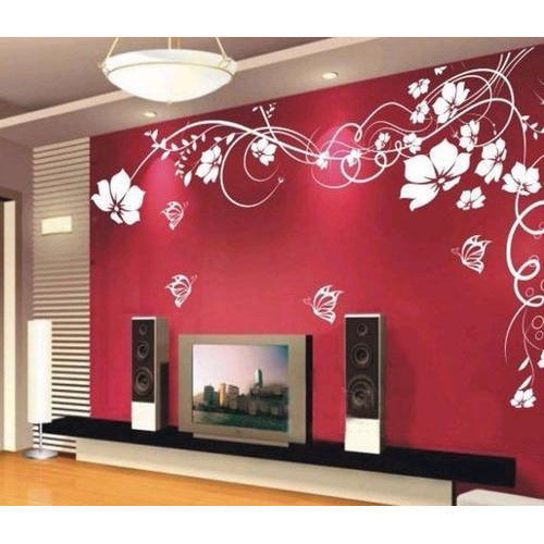 Flower Design Wall Stencil at Rs 850 piece New Bidipeth Nagpur