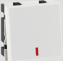 White Havells 10ax Mega Switch With Indicator