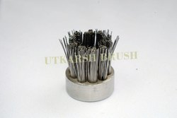 Metallic Bristles Steam Clean Machine Brush