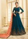 Georgette Abaya Style Salwar Suits