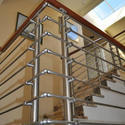 SS304 Stainless Steel Staircase Railing