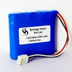 ECG Machine Lithium Ion Battery Pack