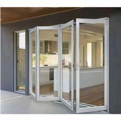Designer White Office UPVC Hinged Door, Interior, Exterior