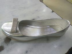 Non Leather Party Wear Ladies Belly, Size: 36-41