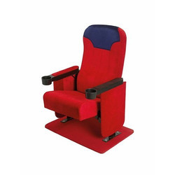 Tip Up Red Auditorium Chair