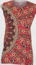Cotton Designer Jaipuri Printed Top, Size: XL