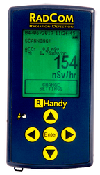 Handheld Radiation Detector