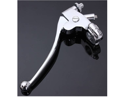 Silver Brake Clutch Lever, Packaging Type: Box